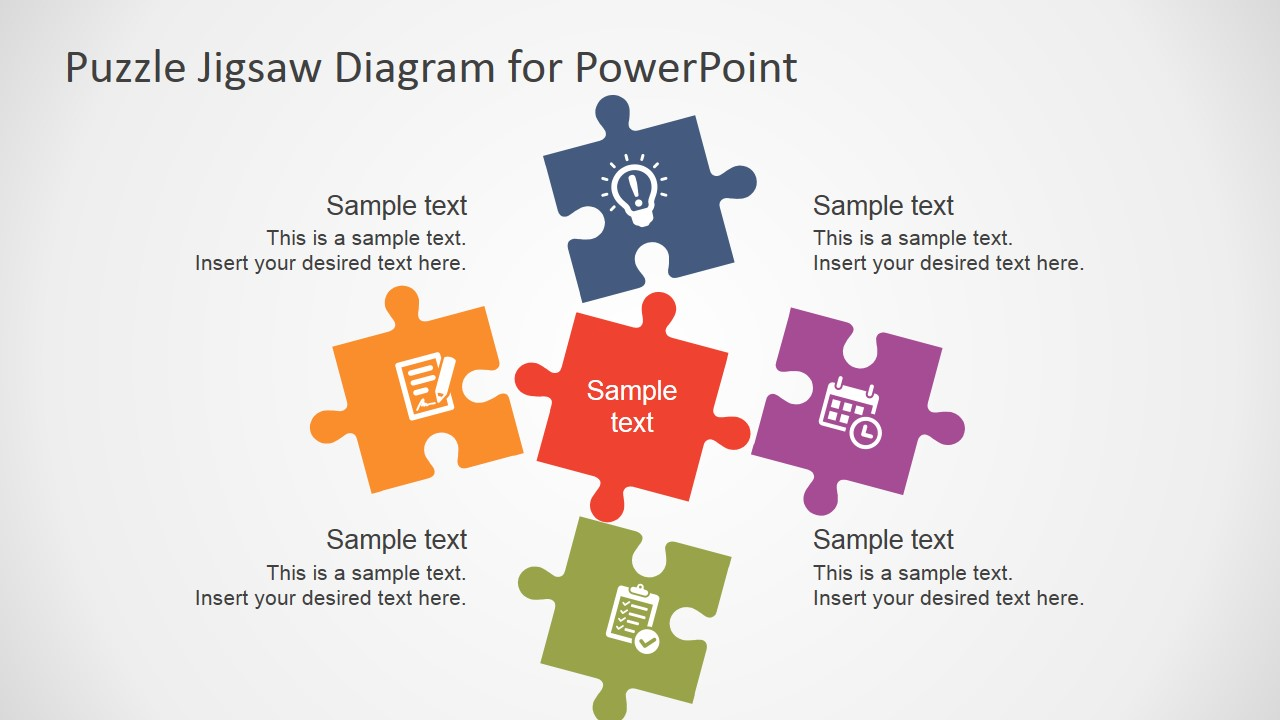 Jigsaw PNG For Powerpoint - 47094