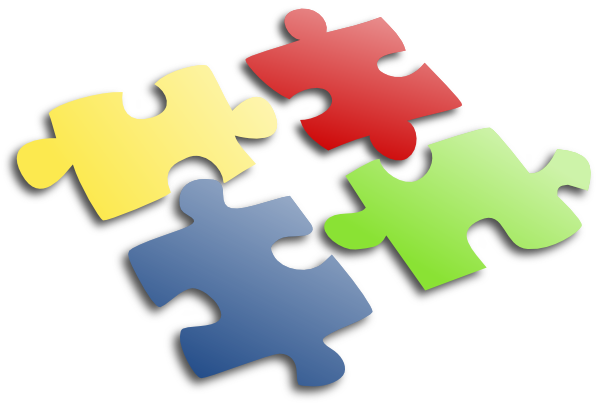 Jigsaw PNG For Powerpoint - 47098