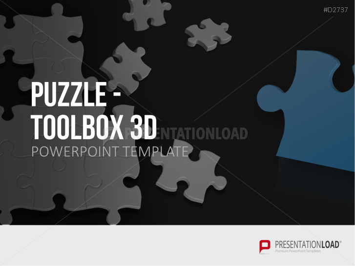 Jigsaw PNG For Powerpoint - 47096