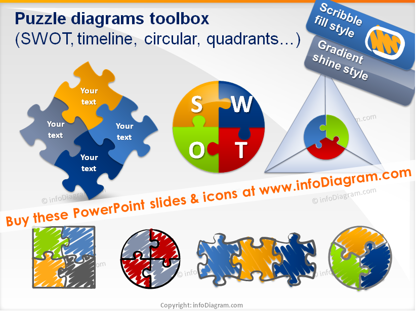 Jigsaw PNG For Powerpoint - 47091