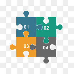 Jigsaw PNG For Powerpoint - 47087