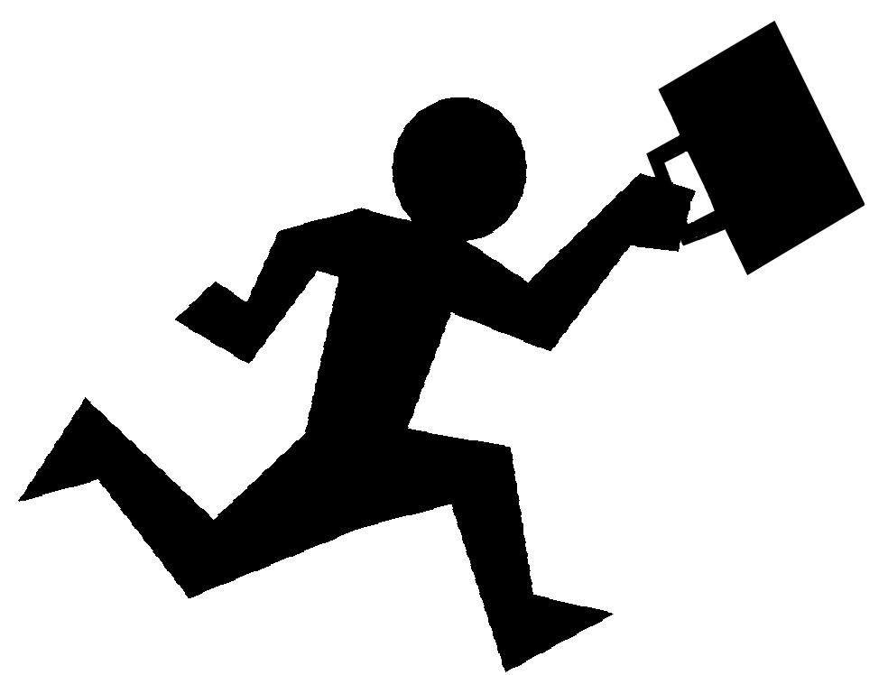 File:Work life balance rat race.png - Job PNG Black And White