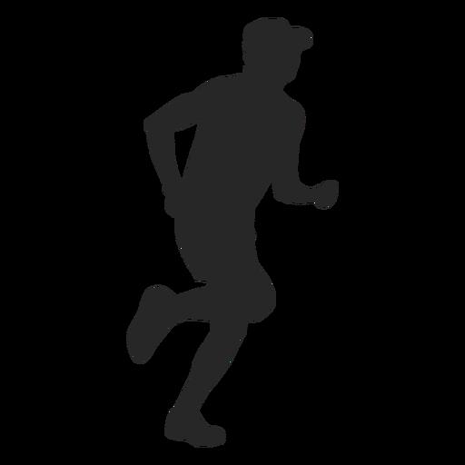 Sportsman jogging png