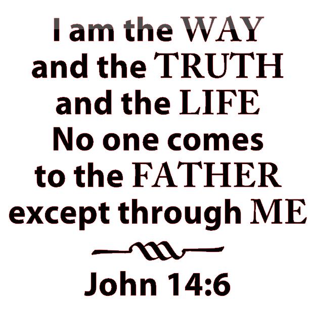 John 14:6 ESV - John 14 6 PNG