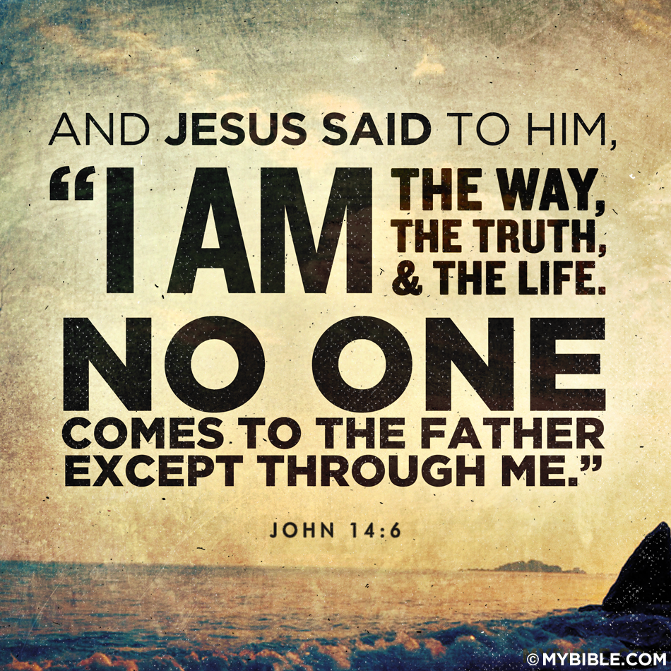 John-14-6.png - John 14 6 PNG