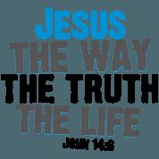 John 14:6 T Shirt - John 14 6 PNG