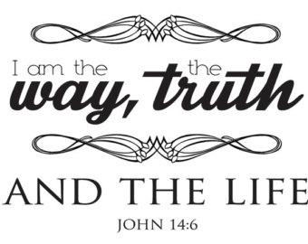 John 14:6 | Yo soy el camino, la verdad y la vida | - John 14 6 PNG