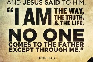 Sermon, Sunday April 19, 2015 - John 14 6 PNG