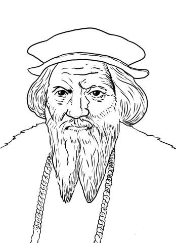 John Cabot coloring page - John Cabot PNG