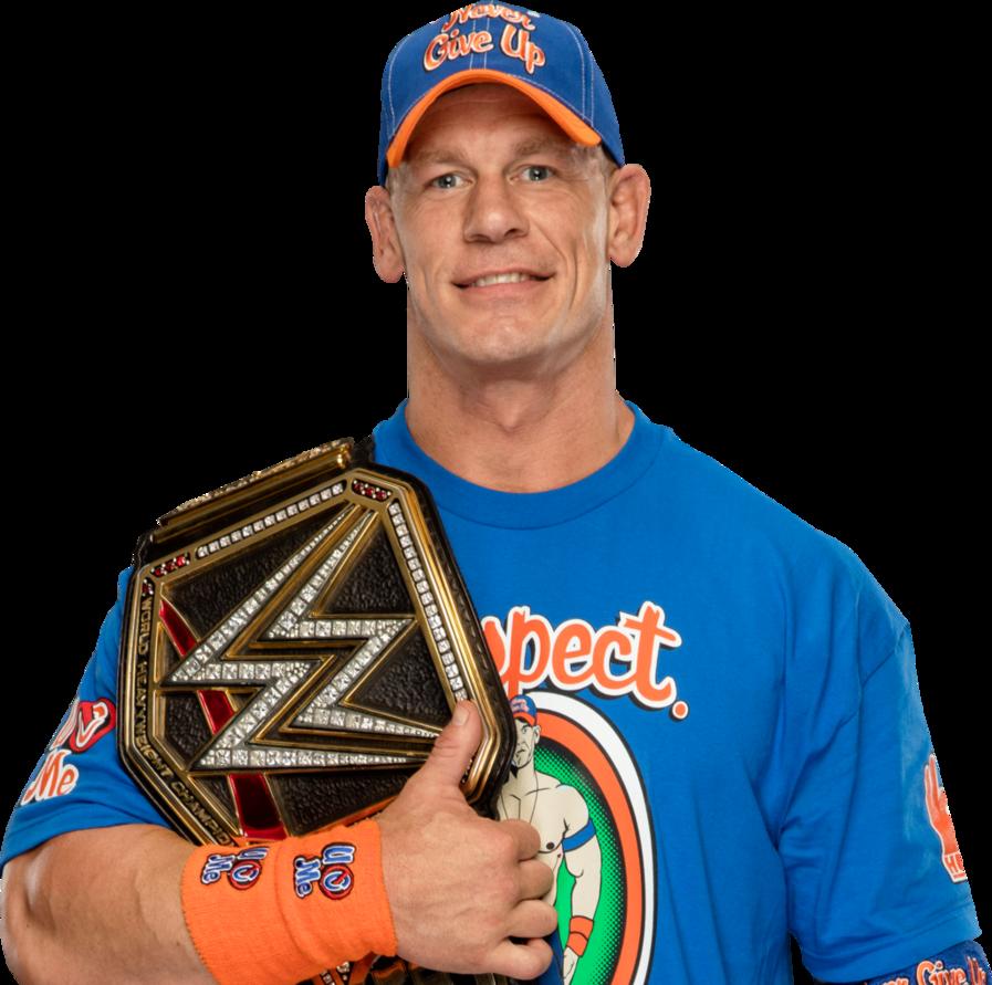 John Cena 2017 WWE Champion PNG by AmbriegnsAsylum16 PlusPng.com  - John Cena PNG