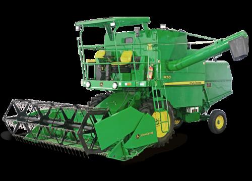 John Deere Combine Harvester - John Deere Combine PNG
