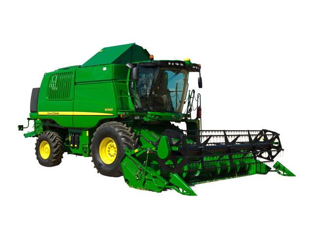 W 540 HM-John Deere-1047110-W 540 HM 985586 - Combine Harvesters PlusPng.com  - John Deere Combine PNG