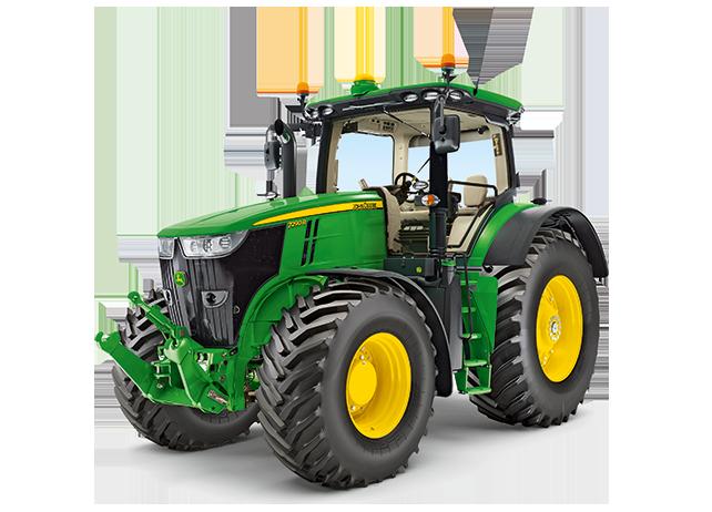 John Deere 7290R Tractor - John Deere PNG