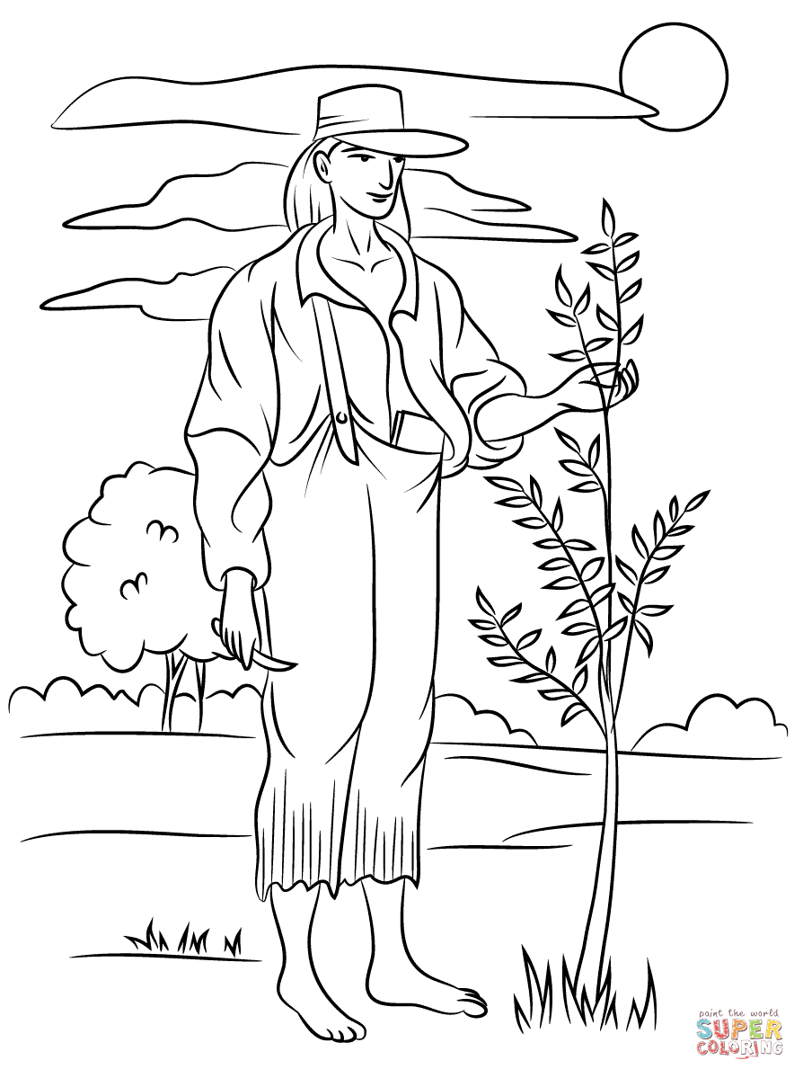 Click the Johnny Appleseed PlusPng.com  - Johnny Appleseed PNG