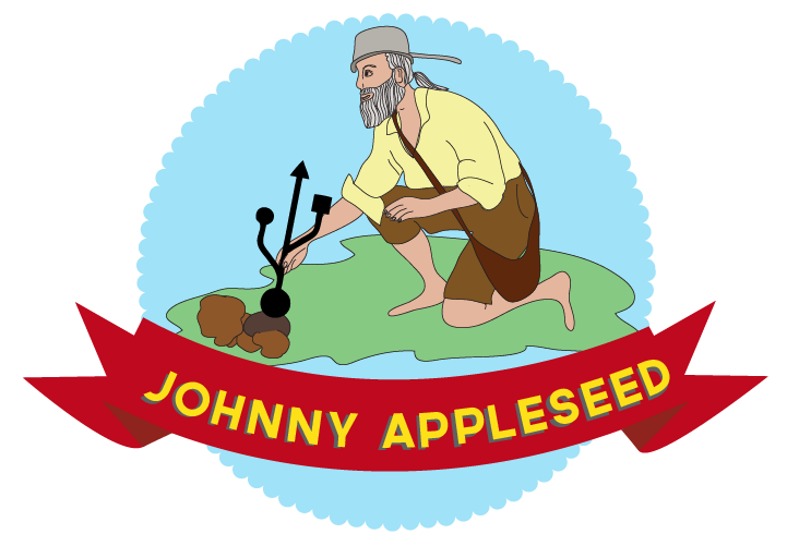 Johnny Appleseed Award! - Johnny Appleseed PNG