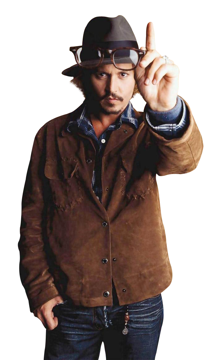 Johnny Depp PNG-PlusPNG.com-682 - Johnny Depp PNG