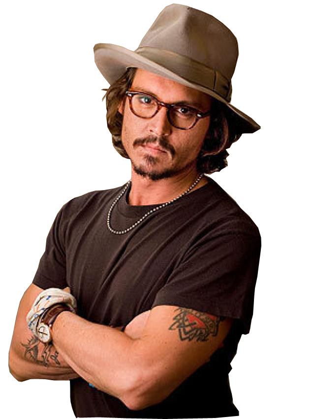 Johnny Depp PNG Transparent - Johnny Depp PNG