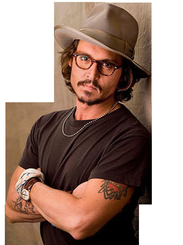 Johnny Depp PNG