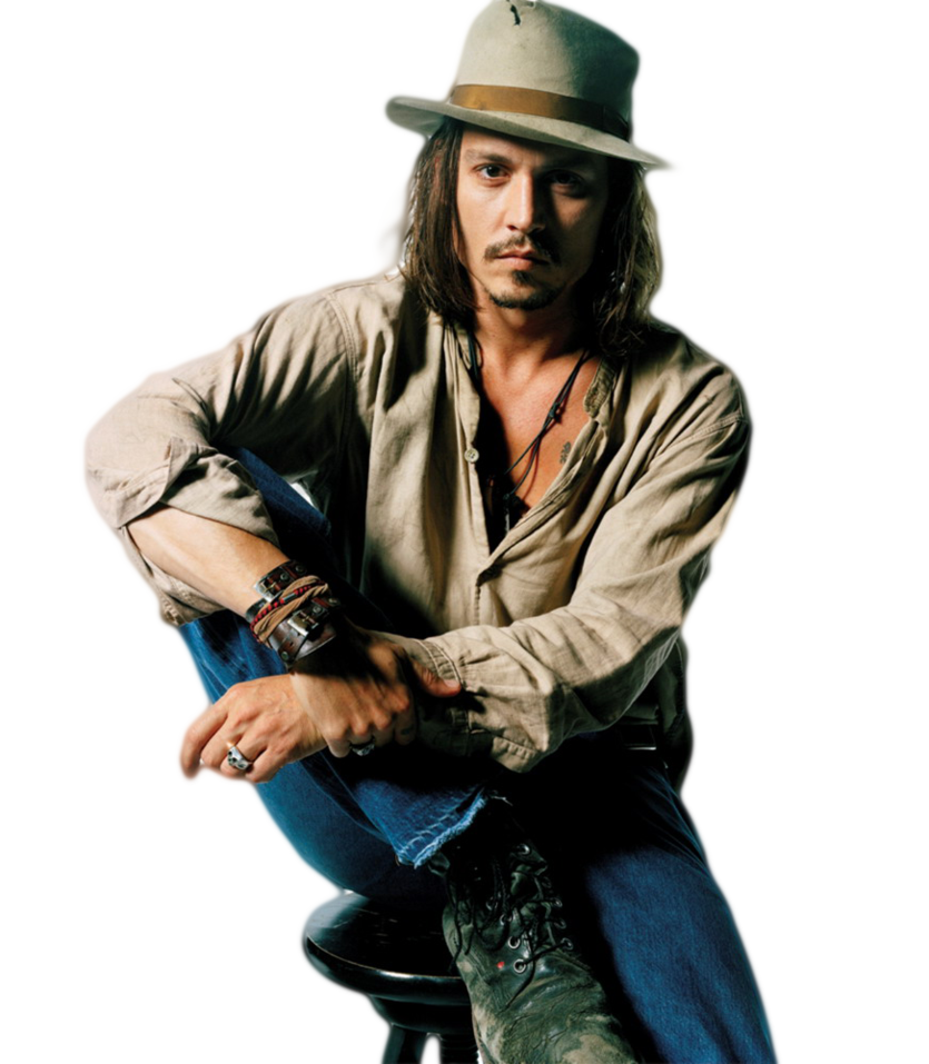 Johnny Depp Transparent PNG - Johnny Depp PNG