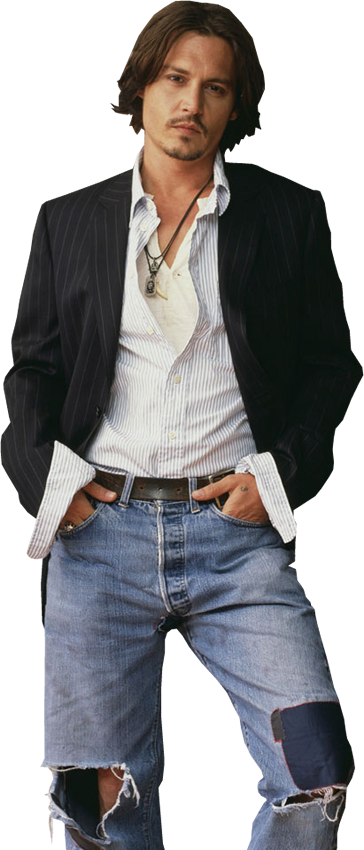 pack png Johnny depp by GabyDarquetita PlusPng.com  - Johnny Depp PNG