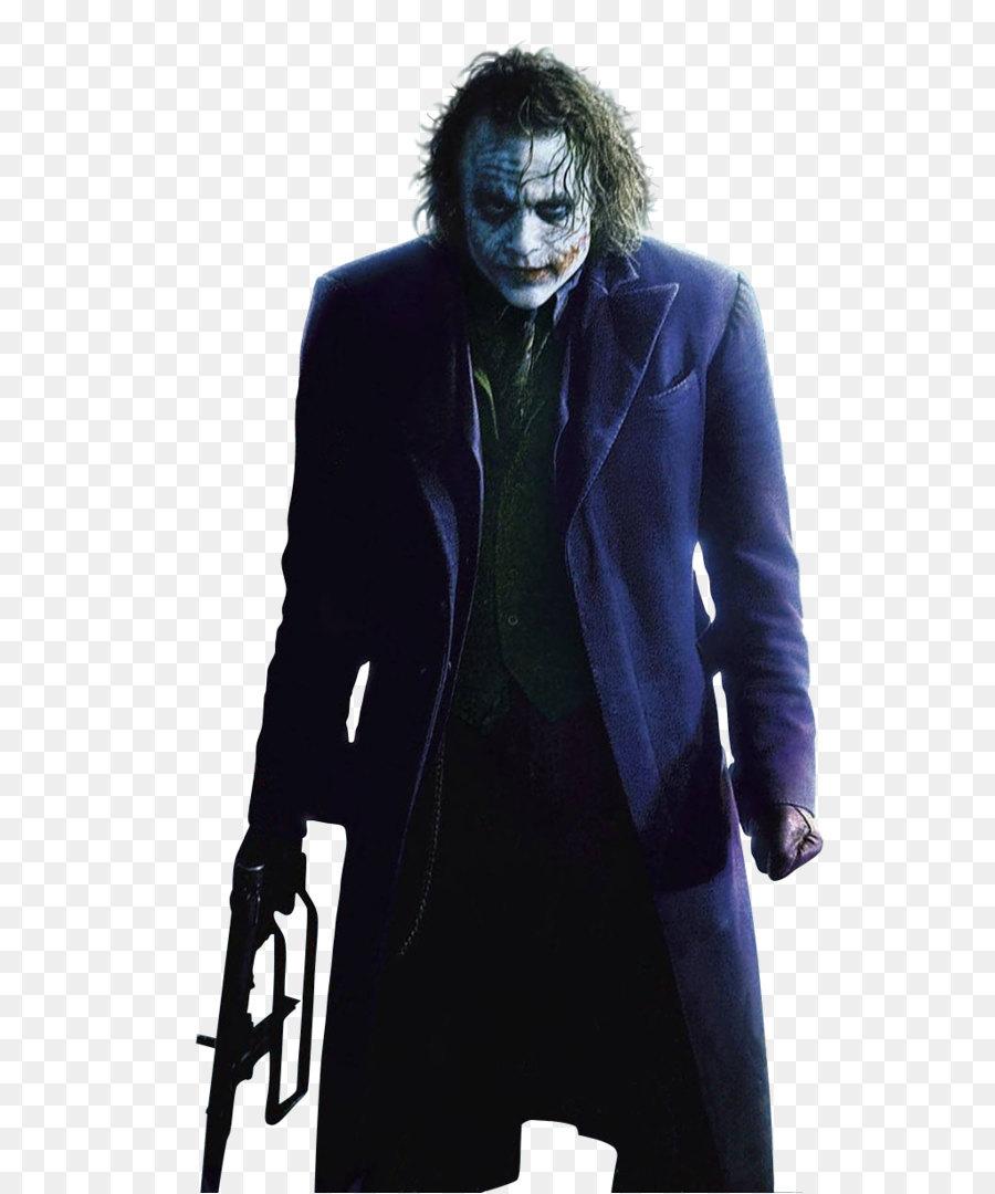 Joker Batman Two-Face The Dark Knight Christopher Nolan - Batman Joker  Vector Png - Joker PNG Batman