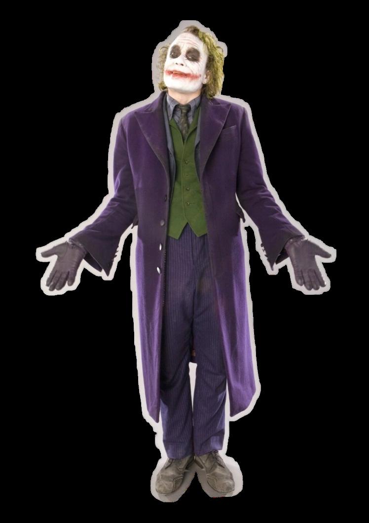 Joker PNG Render by MrVideo-VidMan PlusPng.com  - Joker PNG Batman