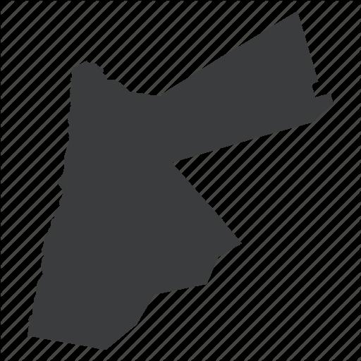 Jordan Map PNG - 50590