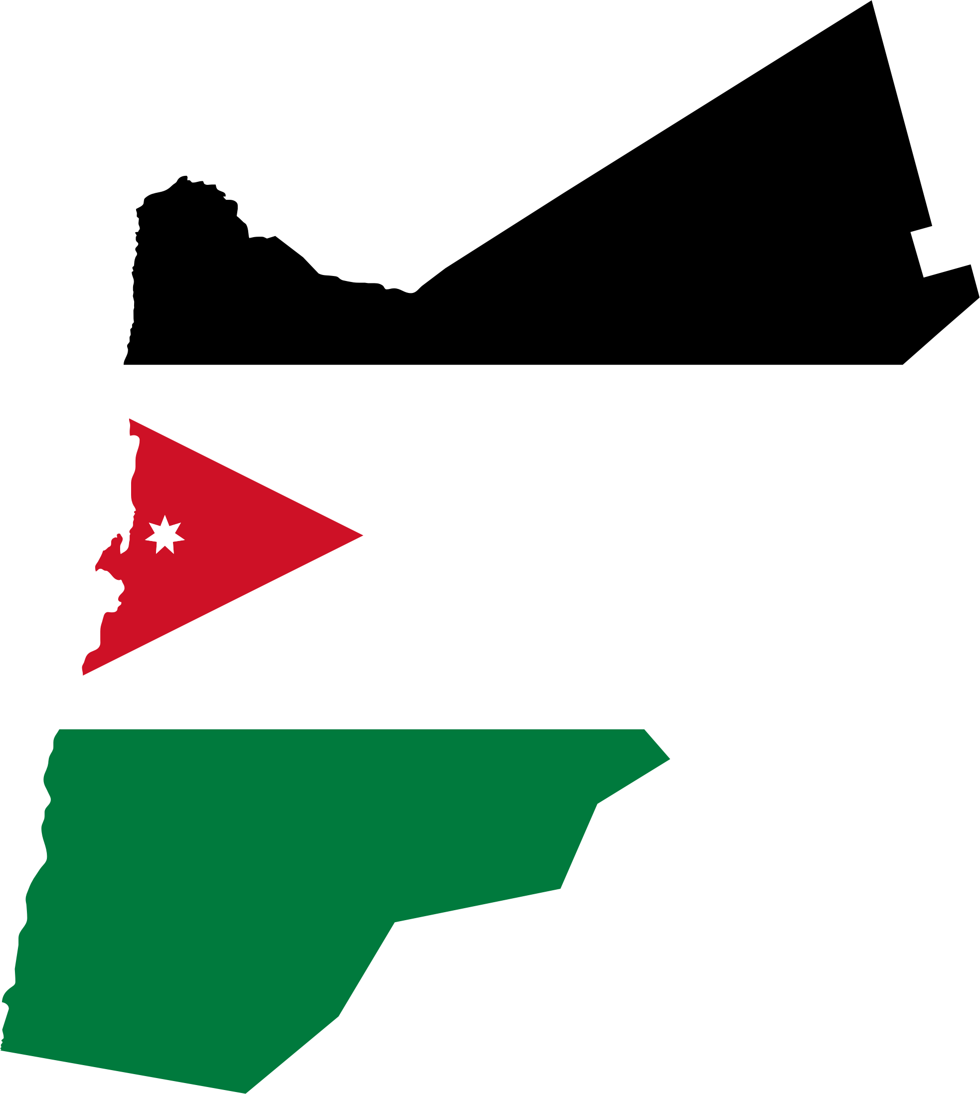 Jordan Map PNG - 50589