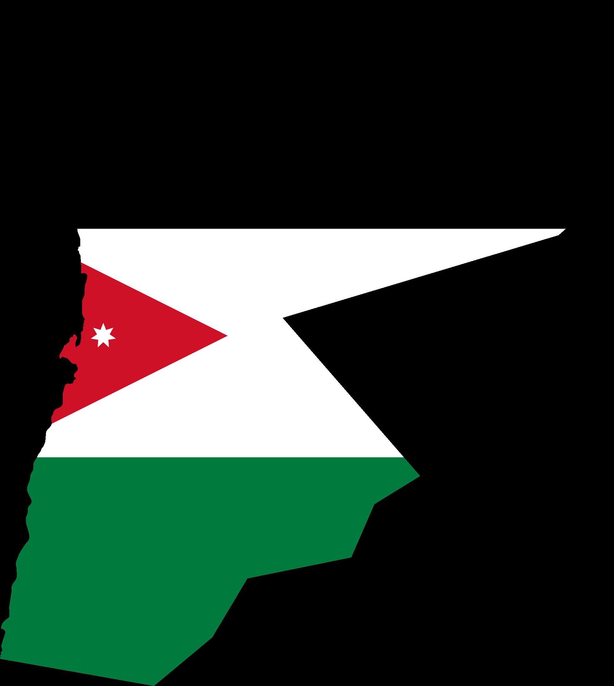 BIG IMAGE (PNG) - Jordan Map PNG