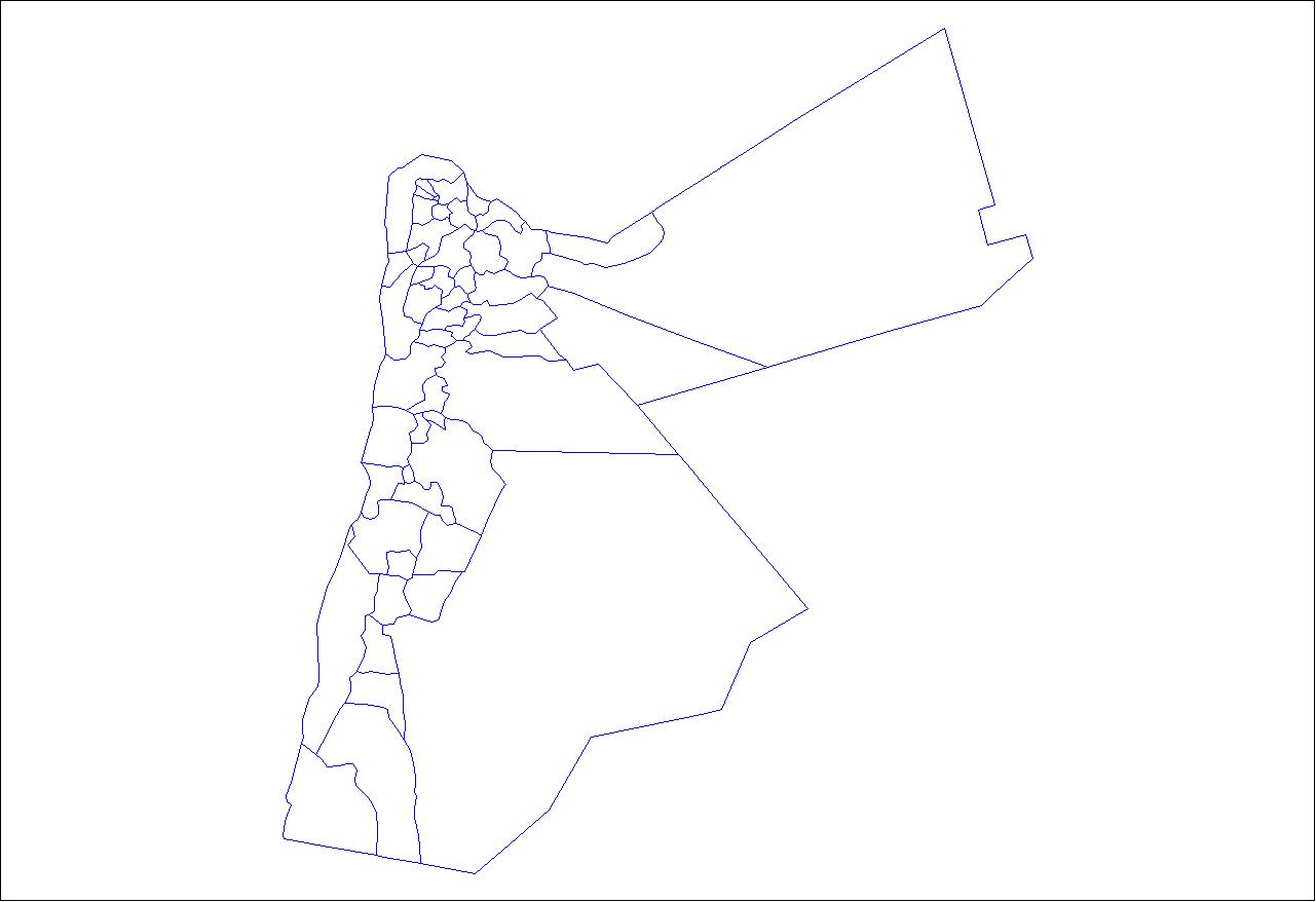 Jordan Map PNG - 50592