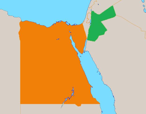 Jordan Map PNG - 50594