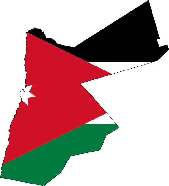 File:File-Flag-map of Jordan.png - Jordan Map PNG