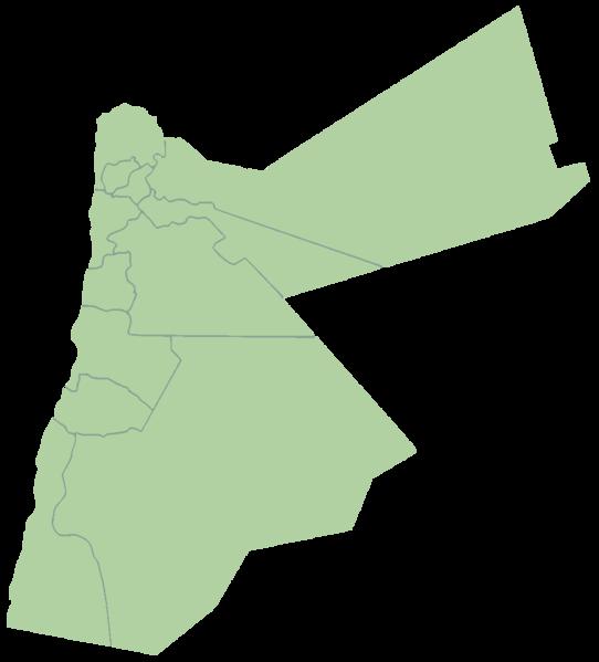 Jordan Map PNG - 50586