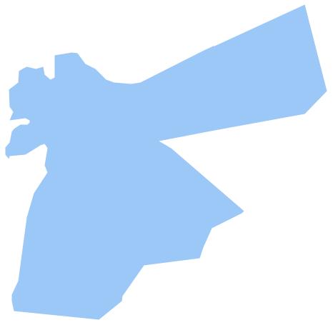 Jordan Map PNG - 50587