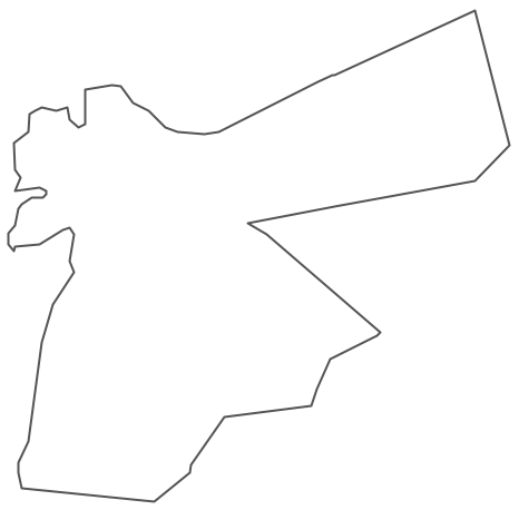 Geo Map - Asia - Jordan Contour - Jordan Map PNG