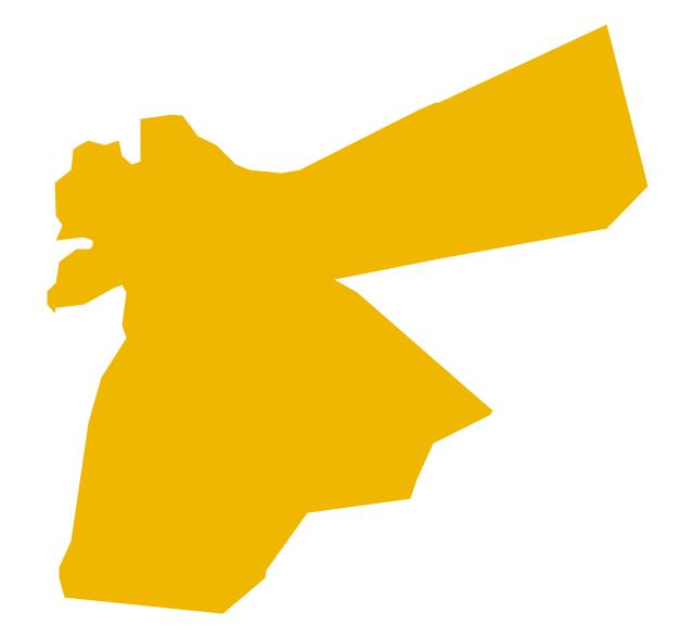 Jordan Map PNG - 50588
