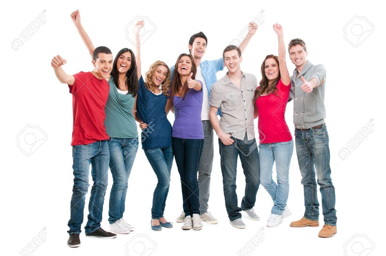 Joyful People PNG - 50455