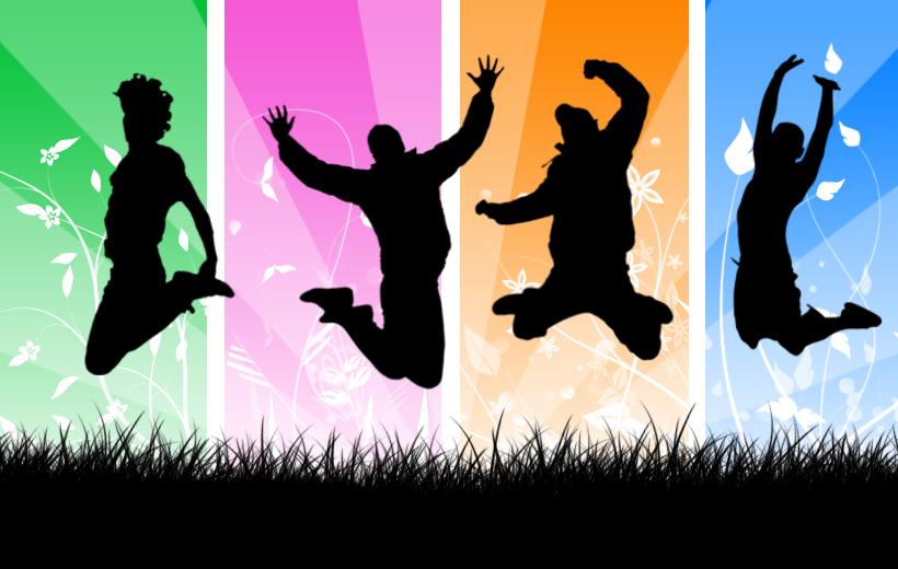 Joyful People PNG - 50457
