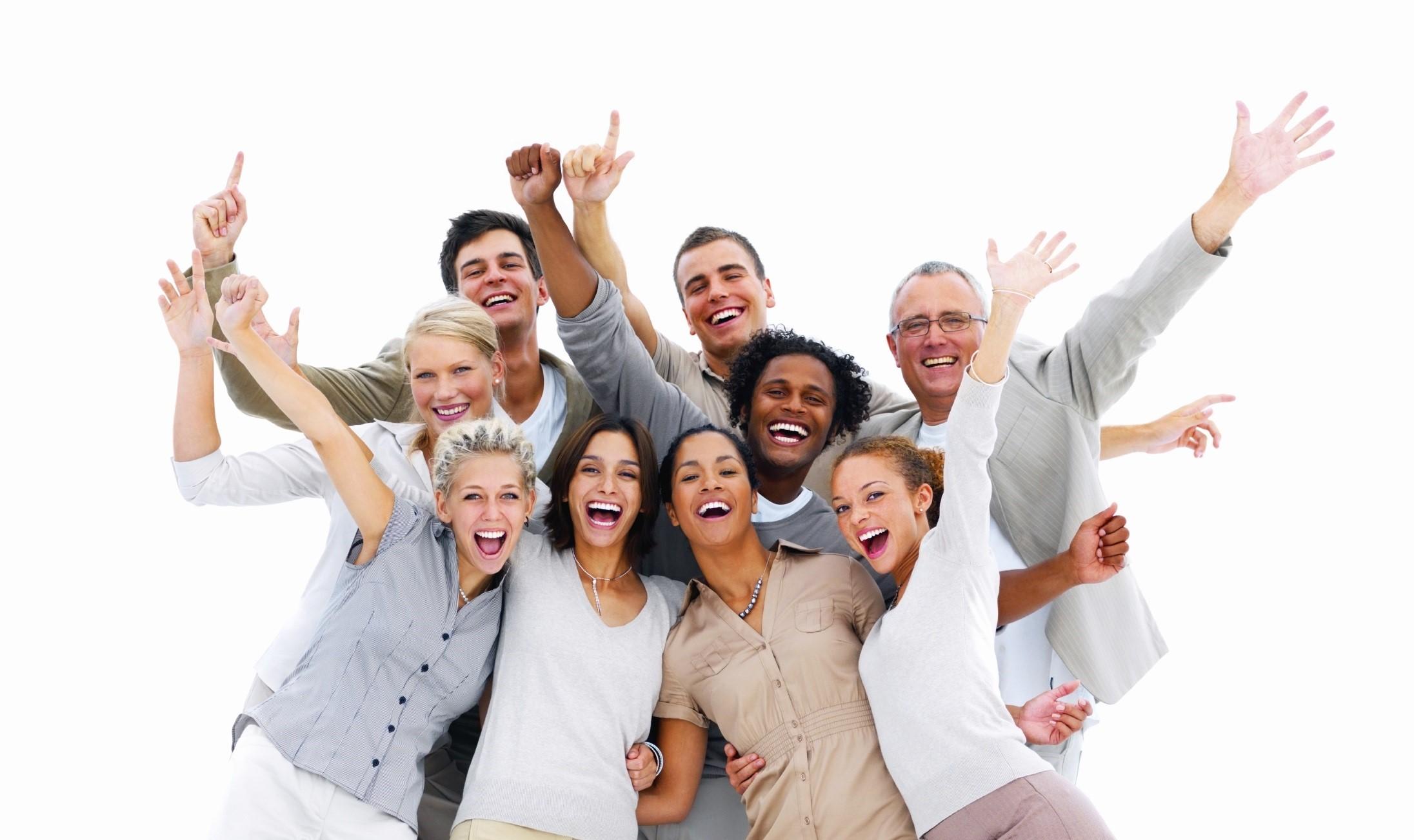 Joyful People PNG - 50454