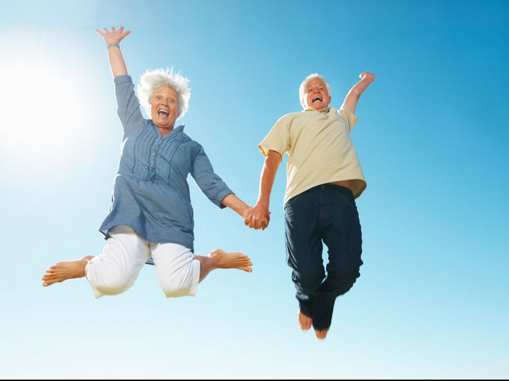 People with joyful lives have better physical function than their more  negative counterparts, a new UK study claims. The study was published in  the Canadian PlusPng.com
