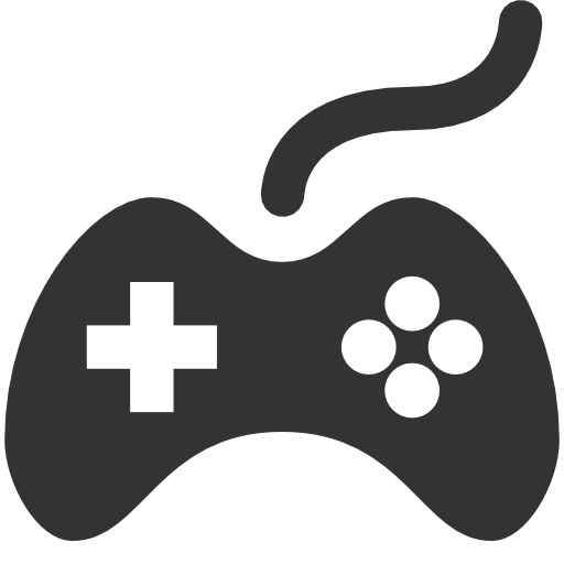 Joystick, Video Game, Flat, M