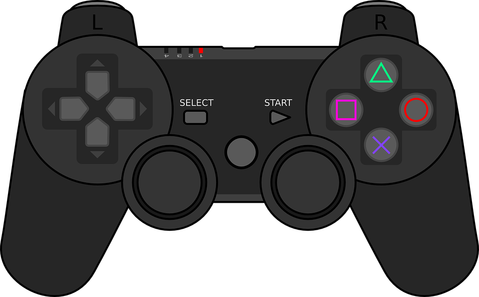 Joystick, Controller, Game, Play, Station, Pad, Remote - Joystick HD PNG