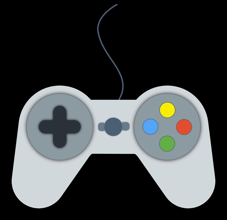 Joystick, Video Game, Flat, Material Design, X-Box - Joystick HD PNG