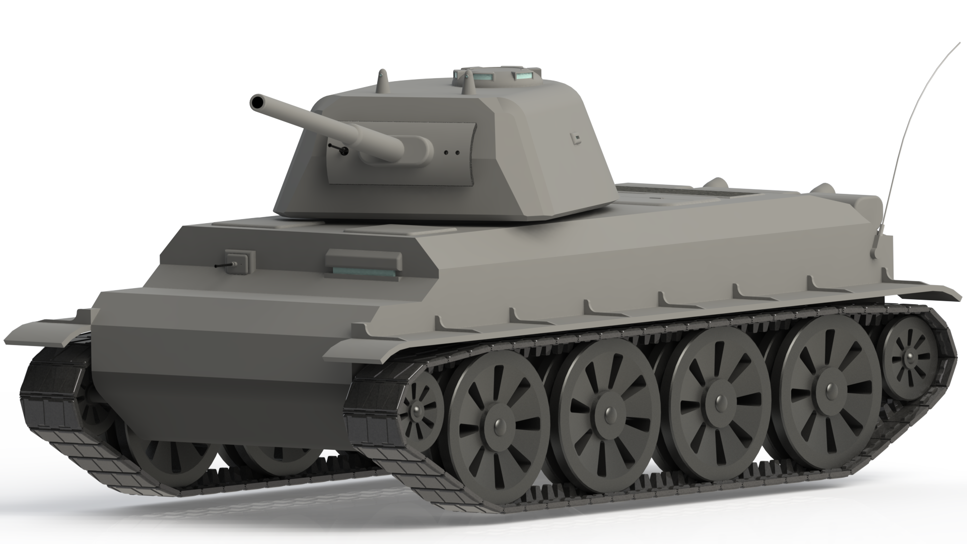 Military Tank PNG - 2650