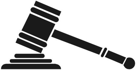Judge Mallet Clipart image in