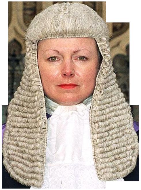 Judge Wig PNG