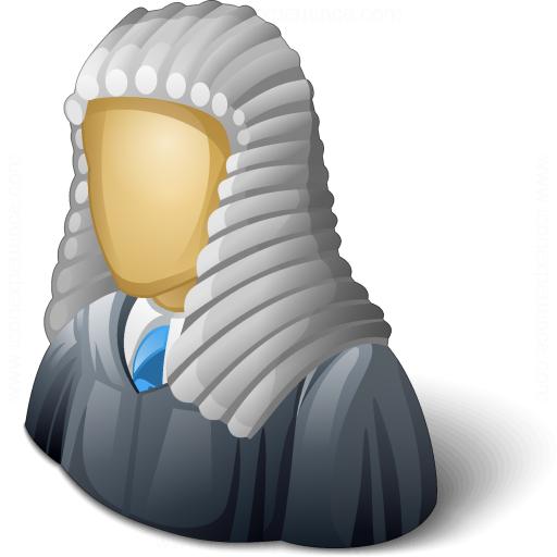 Judge Wig PNG - 53655