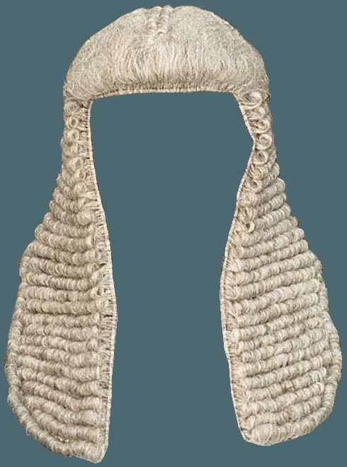 Judge Wig PNG - 53651