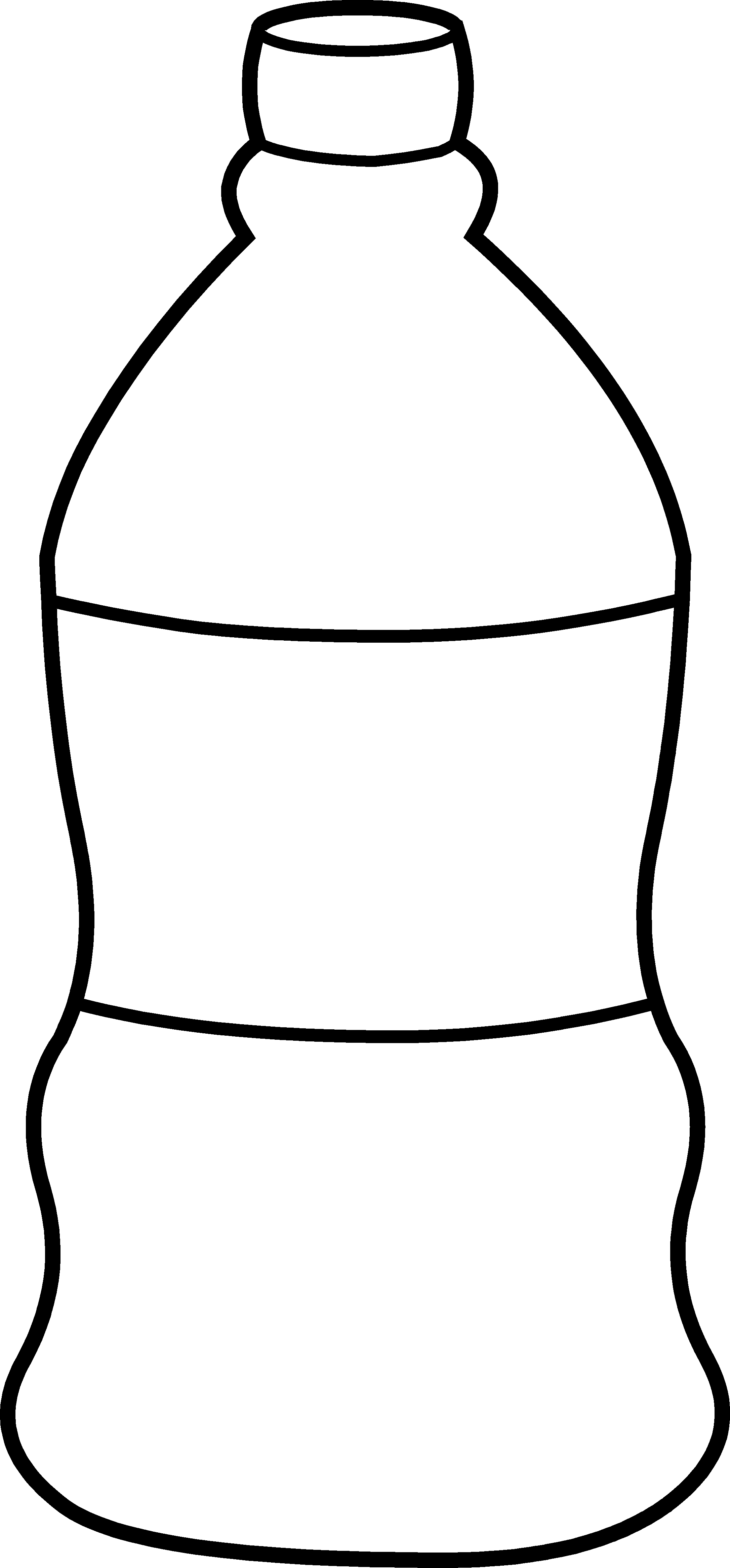 black and white water clipart - Jug PNG Black And White