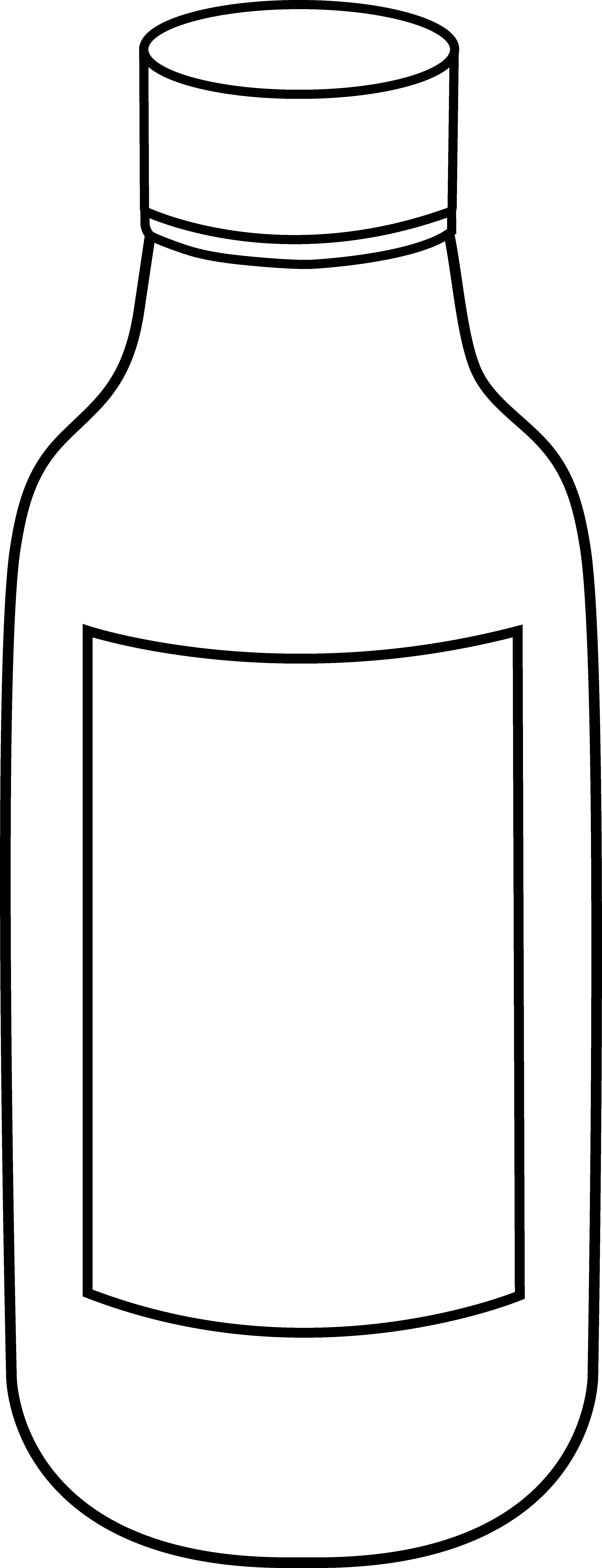 pin Black u0026 White clipart bottle #4 - Jug PNG Black And White